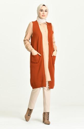 Brick Red Waistcoats 4296-02