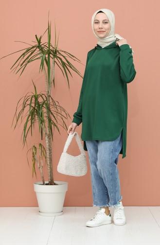 Smaragdgrün Tunikas 1556-01