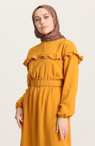 Senf Hijap Kleider 0609-08