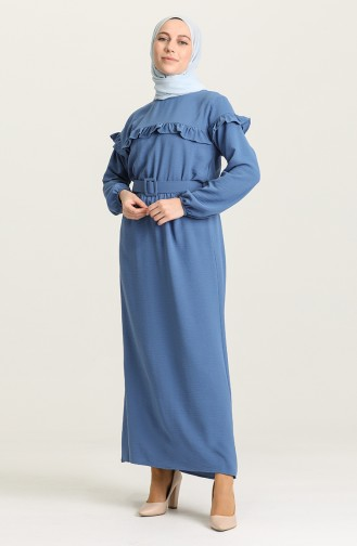 Indigo Hijap Kleider 0609-04