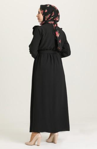 Black Hijab Dress 0610-05