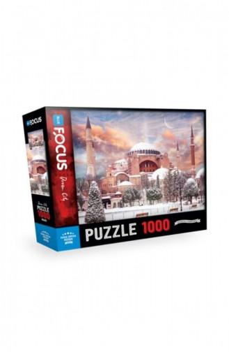 Blue Focus 1000 Parça Puzzle Ayasofya Camii 8681176322756