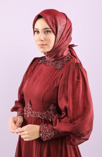 وشاح أحمر كلاريت 15257-03