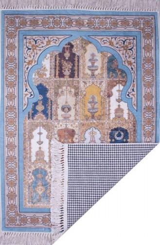 Decoling Bambu Pamuklu Seccade 1066-4 Mavi