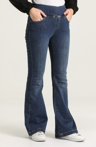 Pantalon Bleu Marine 9114-02