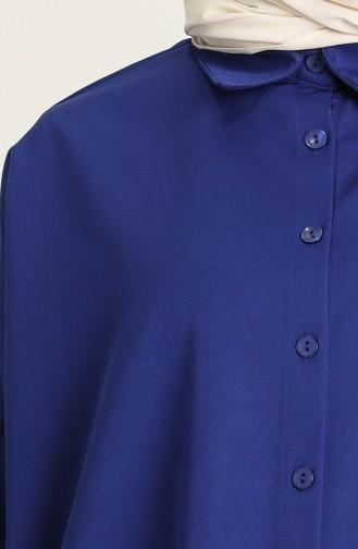 Saks-Blau Anzüge 1409-04