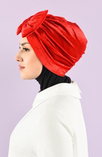 Turban Pret-a-Porter Rouge 7026-03