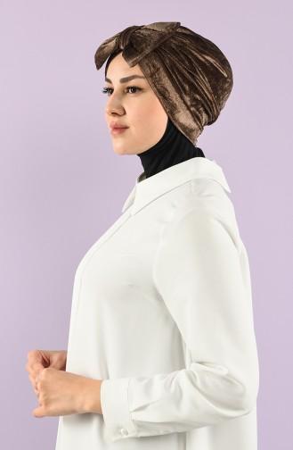 Mink Ready to wear Turban 7026-04