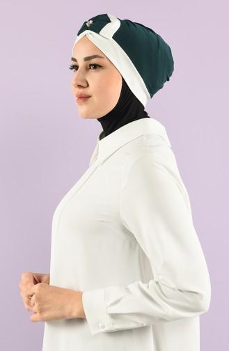 Turban Pret-a-Porter Vert emeraude 9030-03