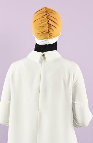 على استعداد لارتداء التوربان أصفر خردل 9030-19