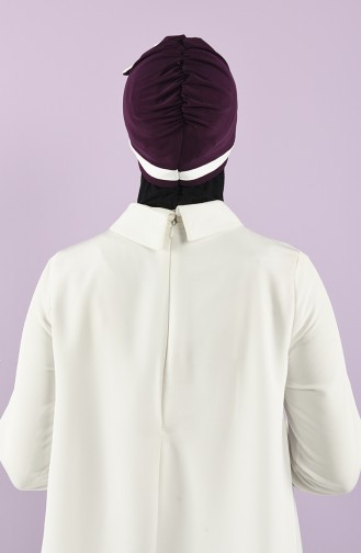 Turban Pret-a-Porter Pourpre 9031-19
