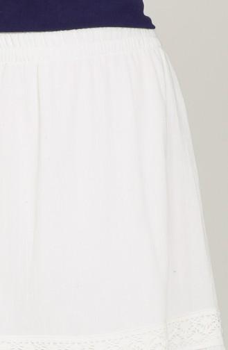 Jupe Blanc 43002-02
