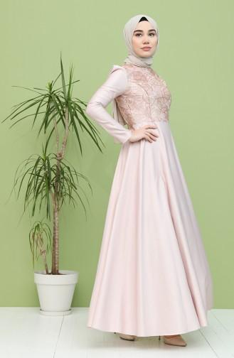 Puder Hijab-Abendkleider 7279-02