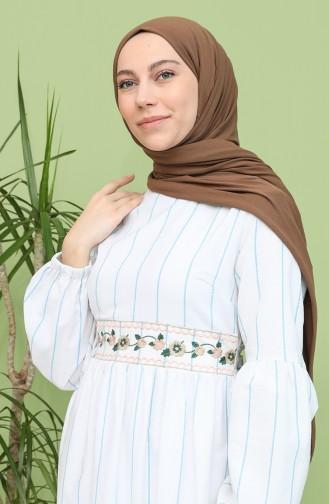 Blau Hijap Kleider 21Y8100-04