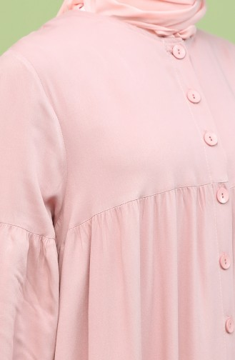 Robe Hijab Poudre 21Y8312-03