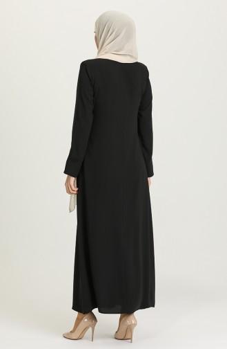 Black Abaya 3002-01