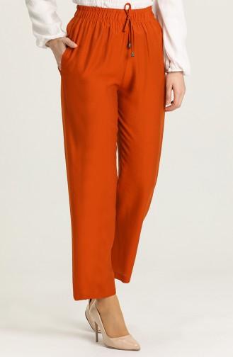 Aerobin Fabric Pocket Trousers 0151-16 Cinnamon 0151-20