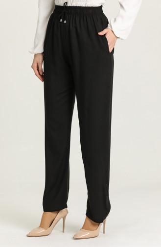 Pantalon Noir 0158-01