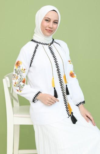 White Blouse 21204-03