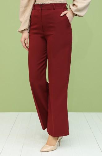 Pantalon Bordeaux 1010081PNT-08