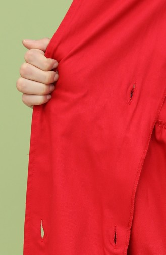 Red Trench Coats Models 8315-02