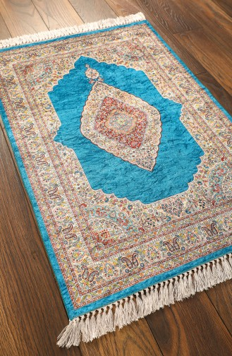 Turquoise Praying Carpet 1000-01