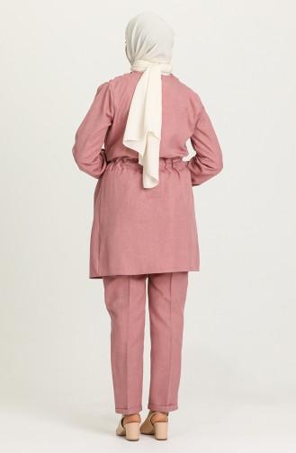 Beige-Rose Anzüge 2041-04