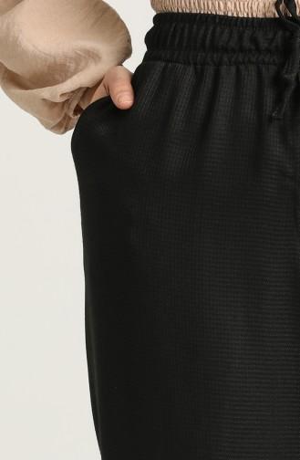 Pantalon Noir 4068-01