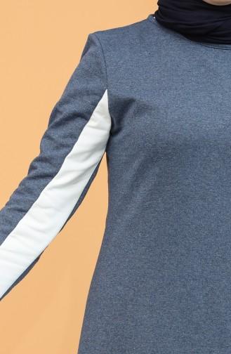 فستان نيلي 5095-03