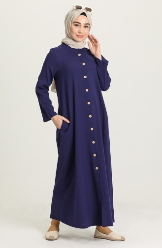 Robe Hijab Pourpre 12204-06
