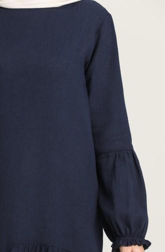 تونيك أزرق كحلي 12202-01