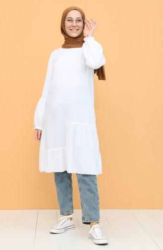 Tunique Blanc 12202-06