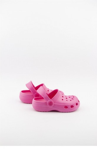 Akınalbella Çocuk Sandalet Terlik E012 P 000 Mm Fusya