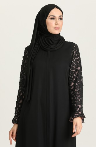 Schwarz Abayas 2200-01