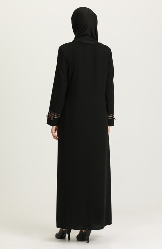 Black Abaya 0004-04