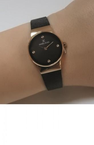 Montre Noir 012344B-06