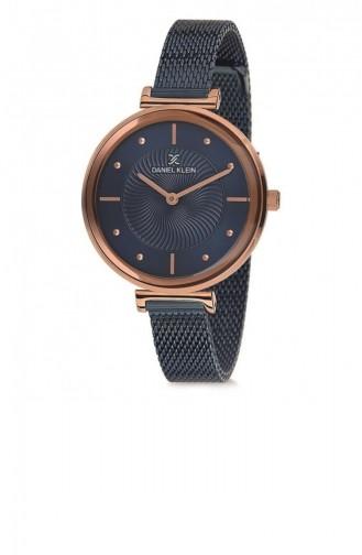 Navy Blue Horloge 02324A-05