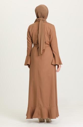 Camel Abaya 7291-02