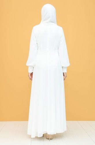 Habillé Hijab Ecru 52785-06