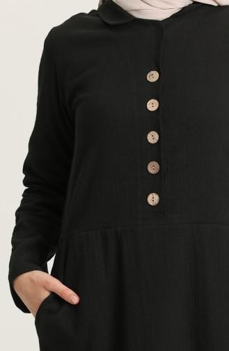 فستان أسود 12205-03