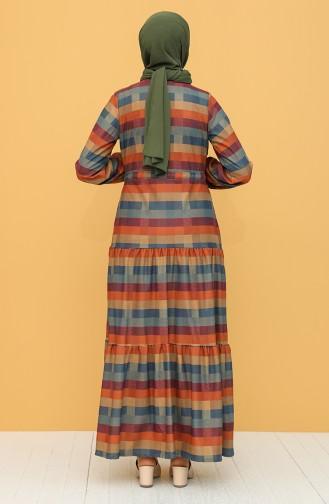 فستان نيلي 5310-01