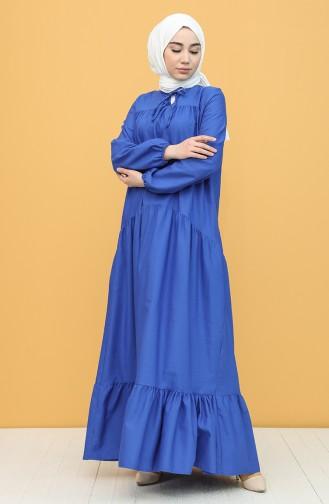 فستان أزرق 7288-03