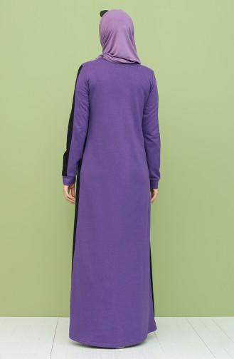Purple İslamitische Jurk 3262-08