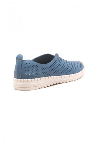 Blau Tägliche Schuhe 01