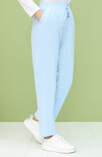 Pantalon Bleu Bébé 0156-06