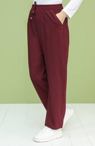Dark Plum Pants 0156-08