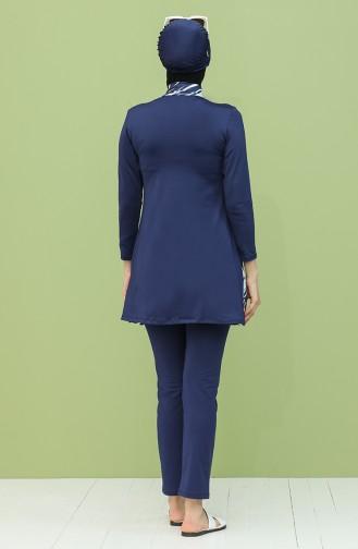 ملابس السباحة أزرق كحلي 2040