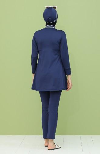 ملابس السباحة أزرق كحلي 2041