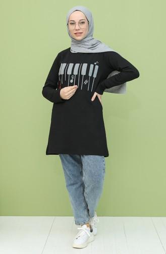 Black Tunics 3047A-01