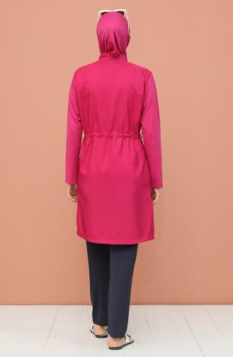 Maillot de Bain Hijab Bleu Marine 1973-02